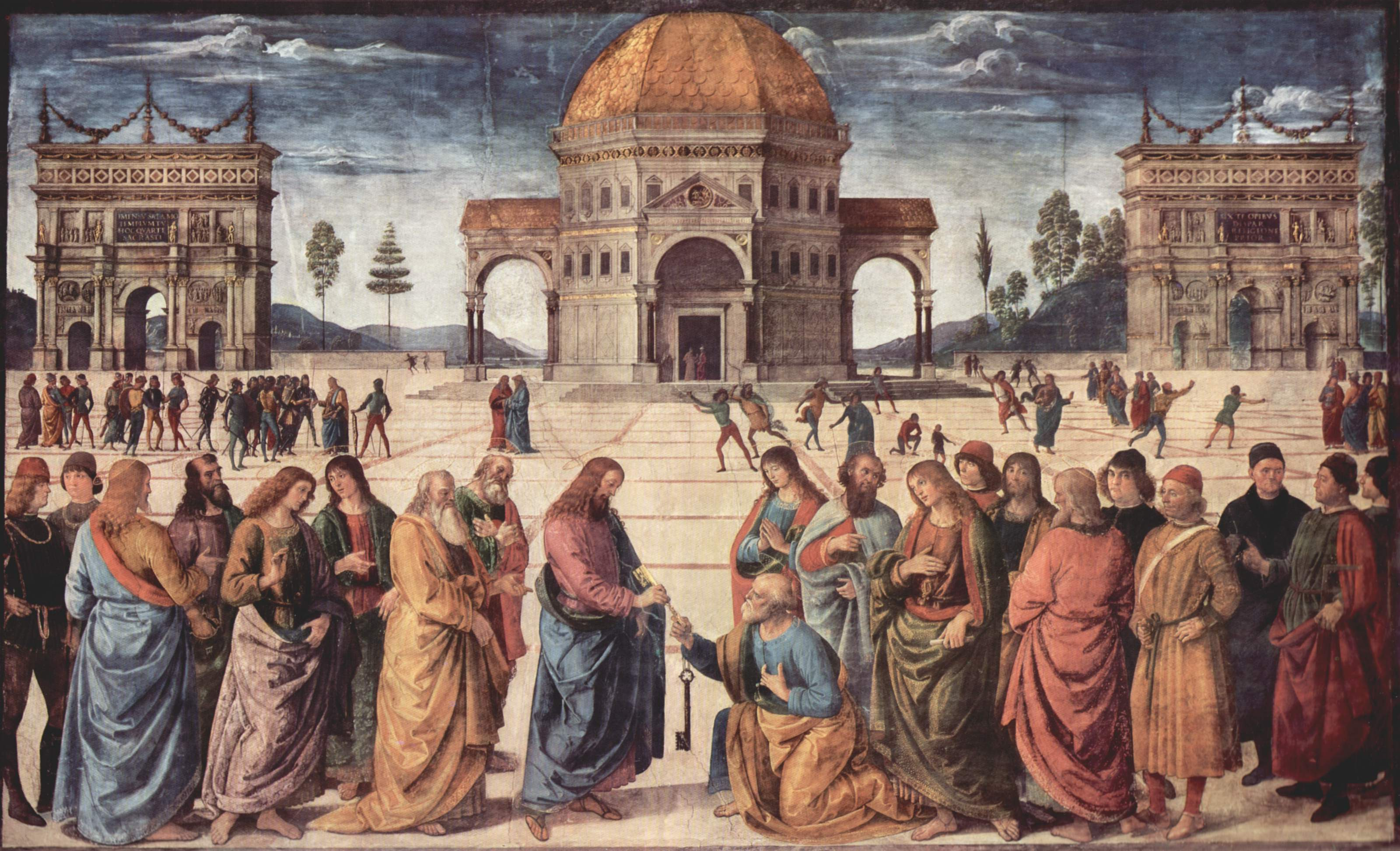 the-giving-of-the-keys-to-saint-peter-pietro-perugino-1482